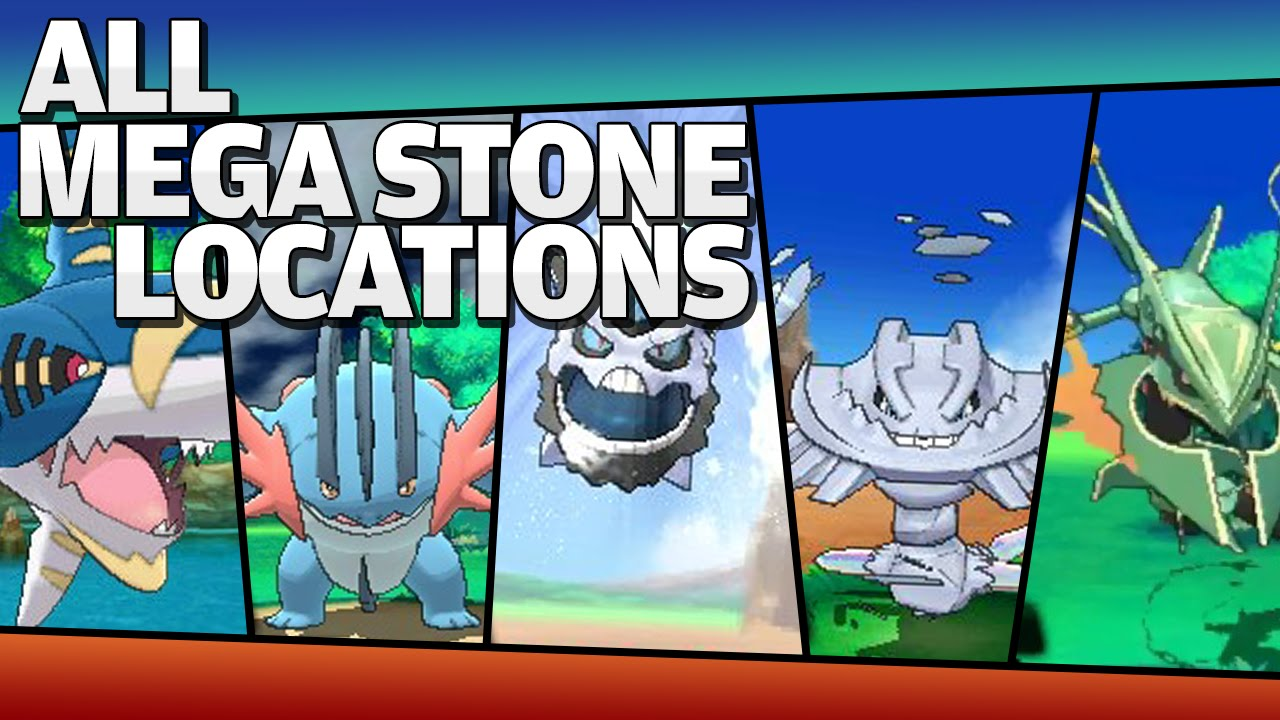 pokemon x and y mega stone location guide