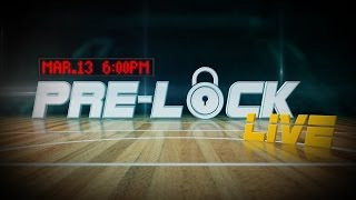 NBA DraftKings Pre-Lock Live - Mar. 13