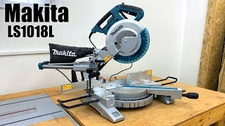 Unpacking my new miter saw Makita LS1018 L