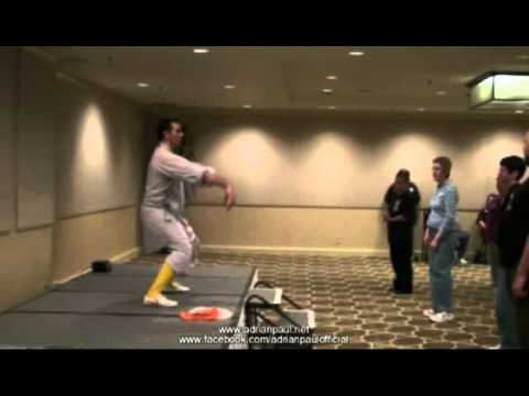 Adrian Paul Martial Arts Class at HLWW9 part2
