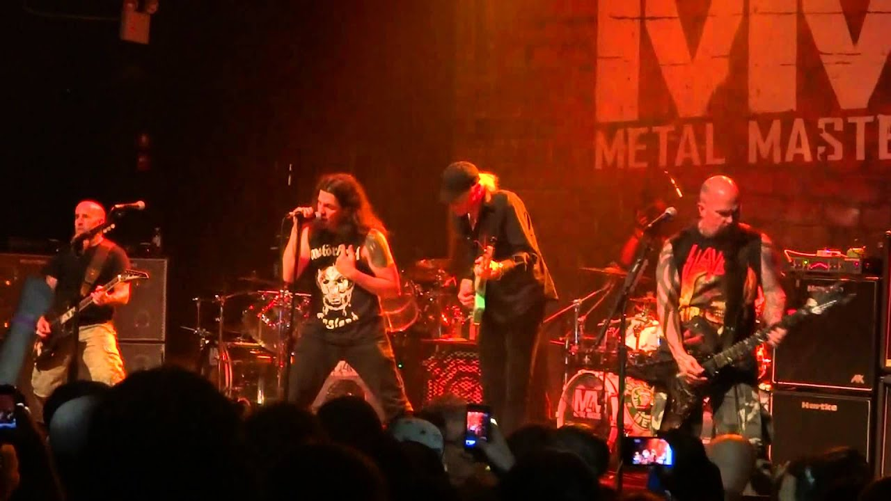 Metal Masters 4 Room For One More Anthrax Gramercy Nyc Youtube