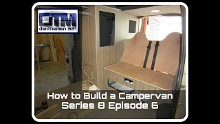 How to Build a Campervan Mercedes Vito Series 8 Episode 6