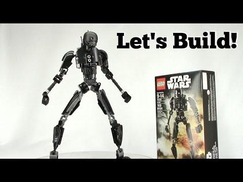 LEGO K-2SO Buildable Figure - Let's Build!