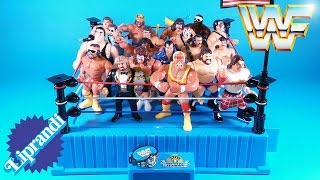 HASBRO - WWF OFFICIAL WRESTLING RING - GIG è BEL RECENSIONE (ita)