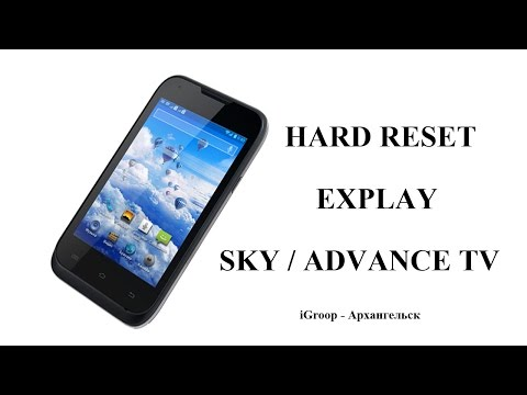 Как сделать hard reset для андроида