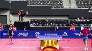 Ma Lin v Koki Niwa GAC GROUP 2011 World Table Tennis Championships - Fantastic Rally