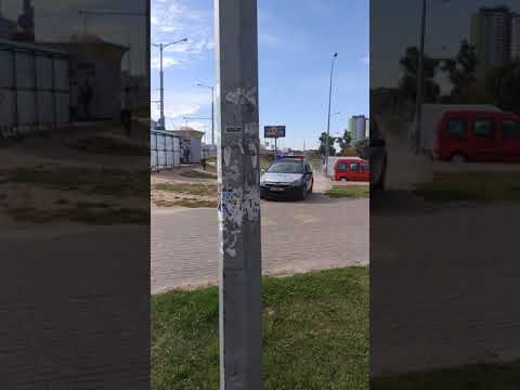 Минск: погоня за Audi с российскими номерами (продолжение)