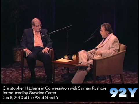 0 Christopher Hitchens in Conversation with Salman Rushdie at the 92nd Street Y