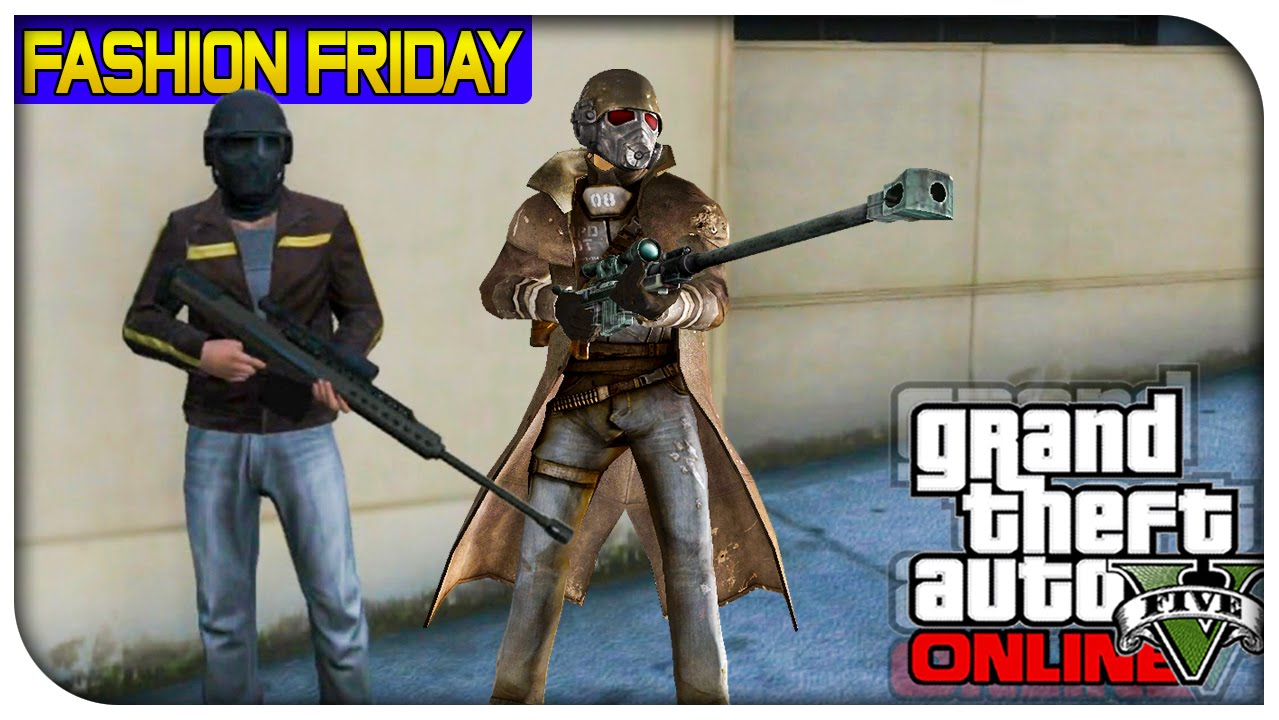 GTA 5 Online - FASHION FRIDAY! (NCR Ranger Desert Ranger u0026 SWAT) [GTA V Cool Outifts] - YouTube
