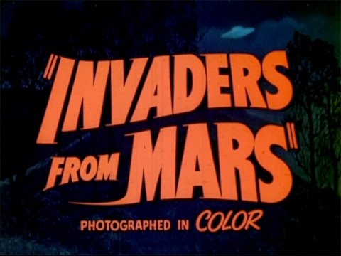 """Invaders From Mars"" (1953) Trailer"