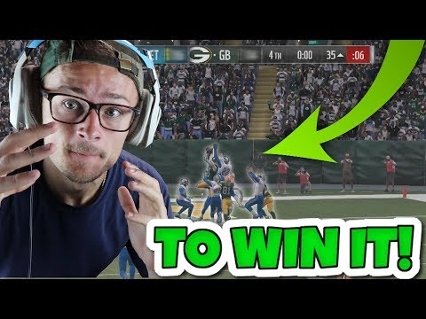 THE GAME CAME DOWN TO A HAIL MARY TO WIN IT ALL!! Madden 18 Super Hero Series