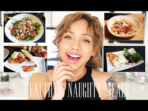 My Naughty & Healthy Meal Recipes