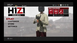 H1Z1 - Friendly PVP Experiment
