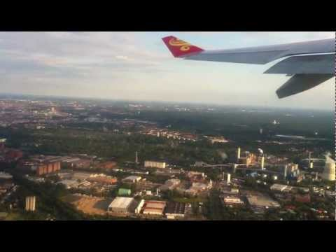 Airbus A330-243 (B-6116) Hainan Airlines Take Off from Berlin-Tegel