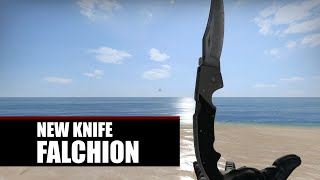 Falchion Knife Animations | Operation Bloodhound Update | CS:GO