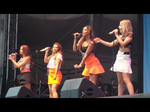 The Saturdays - Forever Is Over  - Leicester Music Festival 26 07 2014 video