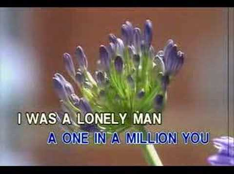 One In A Million You-karaoke Version video