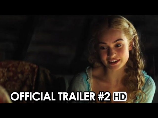 Cinderella Official Trailer #2 (2015) - Lily James, James Madden HD