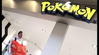 Spending 25,000 at The Pokemon Center Japan