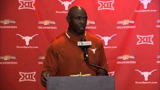 Charlie Strong press conference [Aug. 25, 2014]