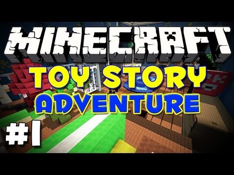 Minecraft: Toy Story Ep-1: To Infinity and Beyond!