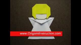 Paper Folding Origami Little Angel 1