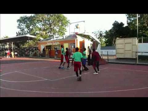 Antigua School Basketball Game 2016 Highlights Video 1