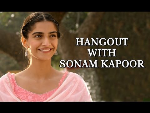 Chat Live With Sonam Kapoor On Google Plus Hangout