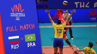 Russia v Brazil - Full Match - Semi Final | Men's VNL 2018