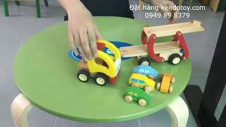 Xe hai tầng   container