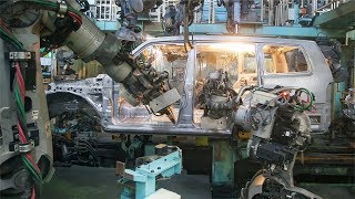 MITSUBISHI PLANT: Pajero and Delica D5 Factory tour