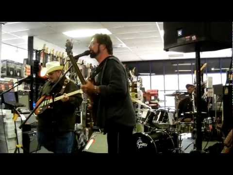 Johnny Hiland Band playing Blues @ Bananas at Large Music Store in Santa Rosa CA