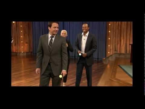 Amy Poehler & Tiger Woods 2011.03.16