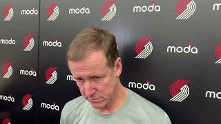 The Oregon Trail Blazers? Coach Terry Stotts not a fan of name change idea