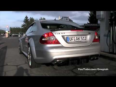 Mercedes CLK 63 AMG Black Series accelerate!!