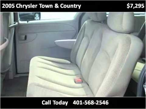 2005 Chrysler Town & Country Used Cars Chepachet RI