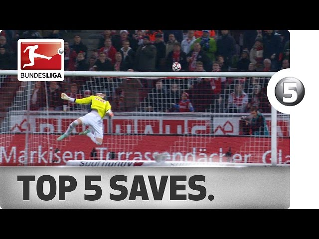 Top 5 Saves -  Incredible Stops from Matchday 12