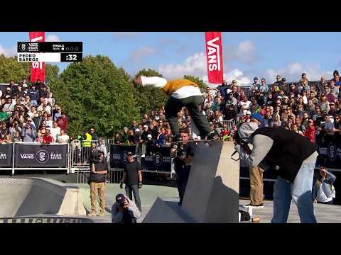 3rd Place - Pedro Barros (BRA) 82.20 | Malmo, SWE | 2018 Men's Vans Park Series