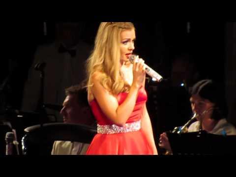 katherine jenkins live 27/7/14  Hallelujah / Time to say goodbye