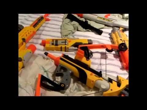 Nerf Guns compared to GOW3 or GOWJ Guns