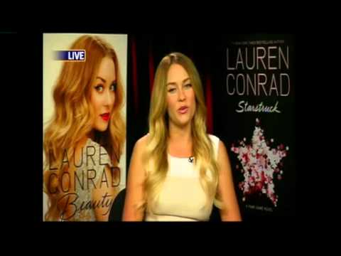 Lauren Conrad Talks About Her New Books 'Beauty' & 'Starstruck' on FOX News!