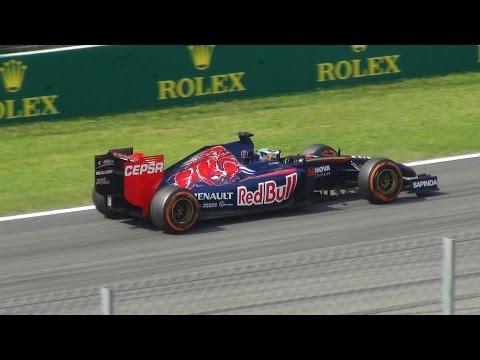 Formula 1 2014 - Monza Grand Prix - V6 Turbo Sound