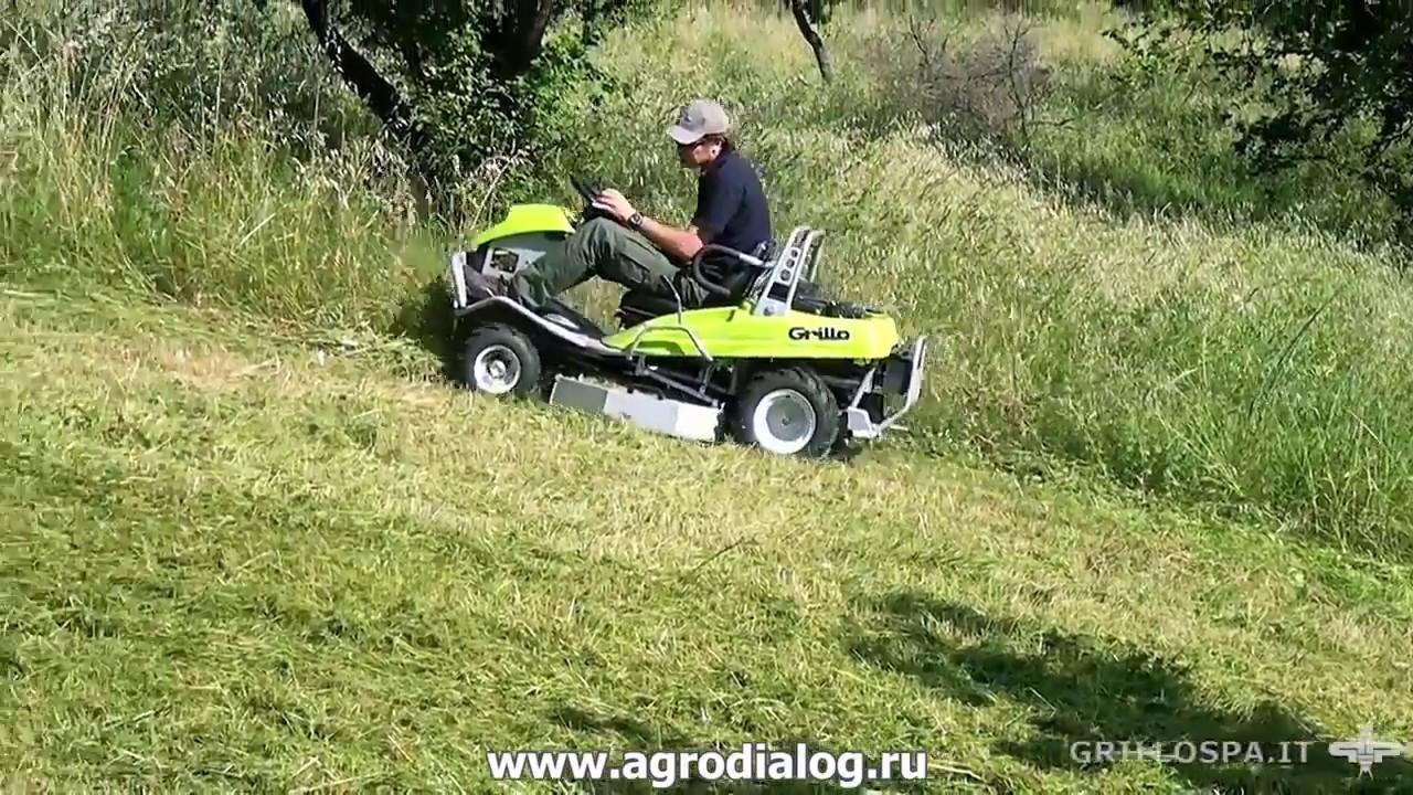 Сенокосилка для высокой травы своими руками 91