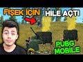 FİŞEĞİ GÖRÜNCE HİLE AÇIP OYUN SONUNA KADAR KOVALADI - PUBG Mobile