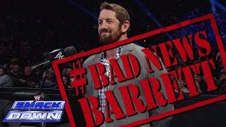 Bad News Barrett ruins Tulsas day: SmackDown, Dec. 6, 2013