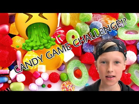 CANDY GAME CHALLENGE MET TYCHO!?