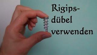 Rigips Dübel befestigen - Rigipsdübel Montage so einfach geht es!