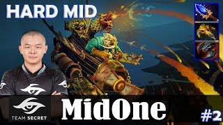 MidOne - Gyrocopter HARD MID | 7.16 Update Patch | Dota 2 Pro MMR Gameplay #2