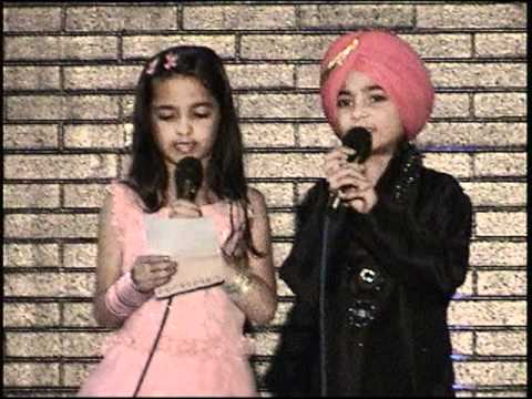 Previous Posting - Seattle Twins Anhad & Inaayat Sidhu singing...