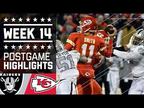 Raiders vs. Chiefs | NFL Week 14 Game Highlights
